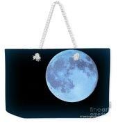 Blue Moonshine Weekender Tote Bag