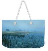 Blue Morning Flash Weekender Tote Bag