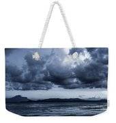 Blue Morning Taal Volcano Philippines Weekender Tote Bag