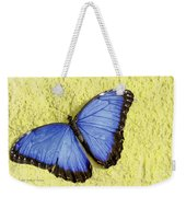Blue Morpho Butterfly Weekender Tote Bag by Richard J Thompson