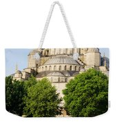 Blue Mosque Weekender Tote Bag