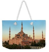 Blue Mosque Blue Hour Weekender Tote Bag