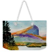 Blue Mountain Weekender Tote Bag