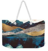 Blue Mountain Reflection Weekender Tote Bag