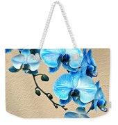 Blue Mystique Orchid Weekender Tote Bag