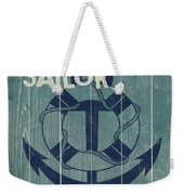 Blue Nautical-jp3614 Weekender Tote Bag