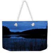 Blue Night Falling Weekender Tote Bag