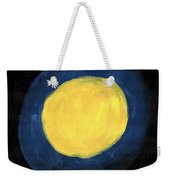 Blue Night Sun Weekender Tote Bag