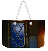 Blue Night Through Casement Weekender Tote Bag
