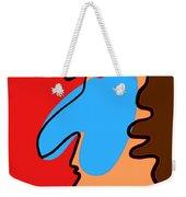 Blue Nose Weekender Tote Bag