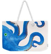 Blue Octopus Weekender Tote Bag