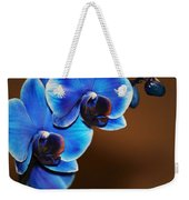 Blue Orchids Weekender Tote Bag