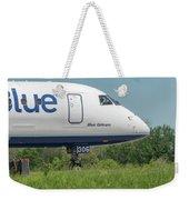 Blue Orleans Weekender Tote Bag