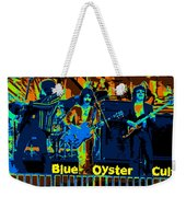 Blue Oyster Cult Jamming In Oakland 1976 Weekender Tote Bag