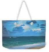 Blue Paradise, Scenic Ocean View From The Bahamas Weekender Tote Bag