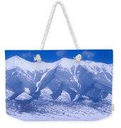 Blue Peaks Weekender Tote Bag