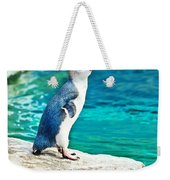 Blue Penguin Weekender Tote Bag