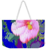 Blue Pink Weekender Tote Bag
