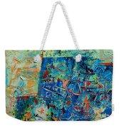 Blue Play 1 Weekender Tote Bag