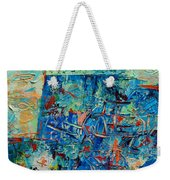 Blue Play 2 Weekender Tote Bag