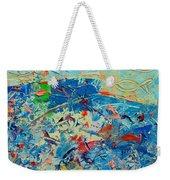 Blue Play 4 Weekender Tote Bag