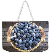 Blue Plums Weekender Tote Bag
