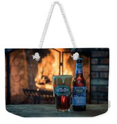 Blue Point Winter Ale By The Fire Weekender Tote Bag