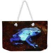 Blue Poison Dart Frog - Dendrobates Azureus Weekender Tote Bag