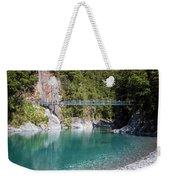 Blue Pools New Zealand Weekender Tote Bag