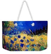 Blue Poppies 459070 Weekender Tote Bag
