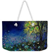 Blue Poppies And Diasies 67 Weekender Tote Bag