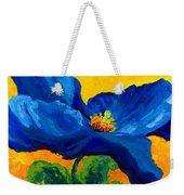 Blue Poppy Weekender Tote Bag