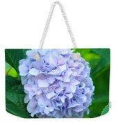 Blue Purple Hydrandea Floral Art Botanical Prints Canvas Weekender Tote Bag