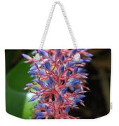 Blue Red Plant Weekender Tote Bag