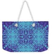 Blue Resonance Weekender Tote Bag