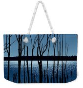 Blue Reservoir - Manasquan Reservoir Weekender Tote Bag