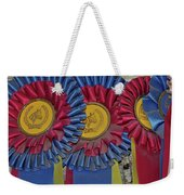 Blue Ribbons Weekender Tote Bag