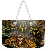 Blue Ridge Box Turtle Weekender Tote Bag
