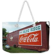 Blue Ridge Coke Weekender Tote Bag