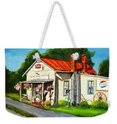 Blue Ridge Grocery Weekender Tote Bag