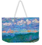 Blue Ridge Magic From Sharp Top Stage One Weekender Tote Bag