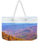 Blue Ridge Mountains 3 Weekender Tote Bag