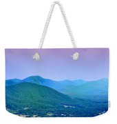 Blue Ridge Mountains Weekender Tote Bag