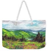 Blue Ridge Mountains Near Asheville Weekender Tote Bag