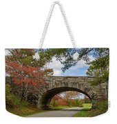 Blue Ridge Parkway Stone Arch Bridge Weekender Tote Bag