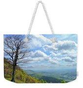 Blue Ridge Parkway Views - Rock Castle Gorge Weekender Tote Bag by Kerri Farley