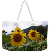 Blue Ridge Sunflowers  Weekender Tote Bag
