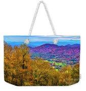 Blue Ridges Weekender Tote Bag