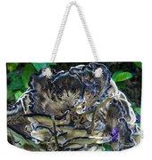 Blue Rimmed Fungus Weekender Tote Bag