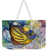 Blue Ring Angelfish Weekender Tote Bag